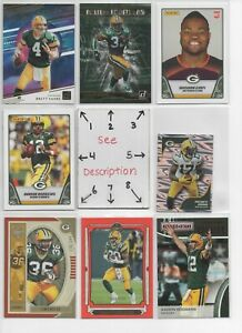 Green Bay Packers LOT * Serial #'d Rookie JERSEYS AUTOS * Favre Rodgers Adams *