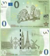 Biljet billet zero 0 Euro Memo - Externsteine Horn-Bad Meinberg (005)