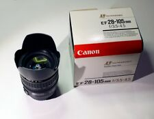 Canon EF USM 28-105mm f/3.5-4.5 Ultrasonic Lens - boxed and in great condition