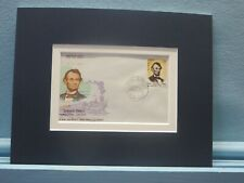 President Abraham Lincoln honored by First day Cover of stamp issued by India