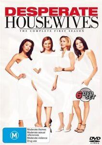 Desperate Housewives: Season 1  - DVD - NEW Region 4 - NEW+SEALED