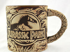 Universal Studios Jurassic Park 3D Sculptured Ceramic Mug New