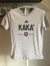 Orlando City MLS Kaka Adidas Soccer T-shirt Kids Size Small 8