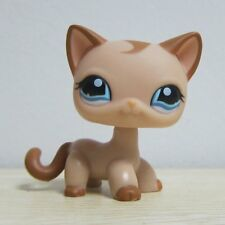 Littlest Pet Shop Collection LPS Loose Toys Tan Short Hair Kitty Cat RARE