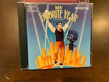 MY FAVORITE YEAR Original Cast Recording CD Tim Curry,Lainie Kazan,Andrea Martin