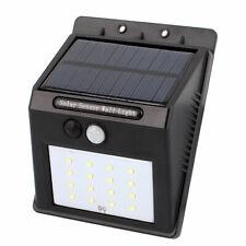 Led Solar Light Pir Cds Motion Sensor Lamp 16 Leds 80 Lumens Waterproof Cordless