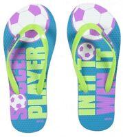 NWT Justice Girls Assorted Beach/Pool Swim Flip Flops Sandals U Pick Size! NEW