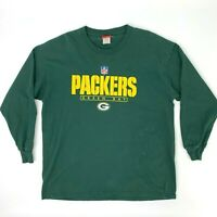Green Bay Packers Shirt Men's Size XL Long Sleeve Sports Illustrated SI NFL Team