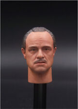 1:6 Godfather Head Sculpt the leader of Clarian family Fit 12''Male Body Figure