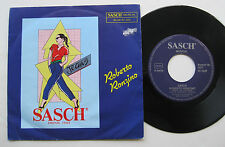 "7"" Roberto Ronzino – Sasch / Instrumental - mint- Mino Siciliano"