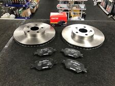 TOYOTA CELICA VVTI 190 ZZT231 2ZZ-GE  1999 on FRONT BRAKE DISC DISCS  BRAKE PAD