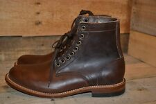 Oak Street Bootmakers Plain Toe Trench Boot, Brown, Size 8.5 D, New without Box