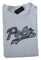 POLO RALPH LAUREN  MEN'S CREW NECK T-SHIRT BIG & TALL SIZE 3XLT WHITE