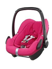 Maxi Cosi Pebble Plus Car Seat - Berry Pink with Sun canopy Hood New