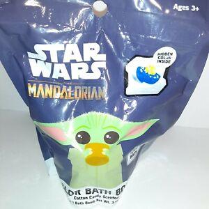 Star Wars Mandalorian Bath Bomb Cotton Candy Scent Baby Yoda
