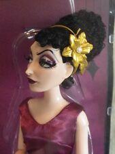 GOTHEL raiponce rapunzel Poupée Edition Limitée Disney Villains DESIGNER doll