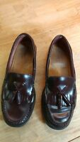 Bass Weejuns Marietta II Womens Leather Kiltie Tassel Loafers 7.5 M 3242 Brown