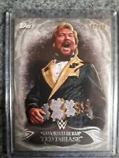 2015 Topps WWE Undisputed Ted Dibiase Silver Parallel #2/25