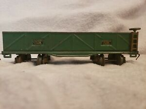 American Flyer Gondola Car Green O Gauge