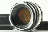 【 MINT w/ Hood 】 Voigtlander Color Heliar 75mm F/2.5 SL Lens CY Mount From Japan