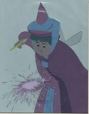 "Original Disney 1959 ""Sleeping Beauty"" Flora's Magic 2-Piece Production Art"