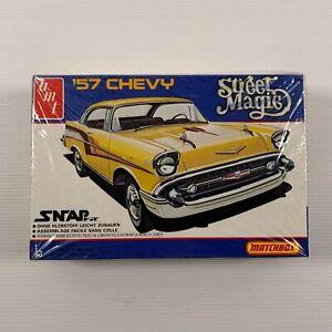 AMT 1/43 PK-2109 Matchbox Street Magic 57 Chevy vintage kit open box kit sealed