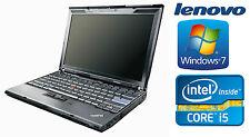 Lenovo Thinkpad X201 Intel i5 540M 2,53GHz 4GB 500GB Win7 A-Ware QWERTY