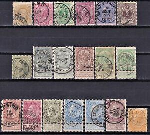 Belgium 1875-1900 used