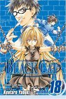 Black Cat Volume 18 (Black Cat (Viz)) by Kentaro Yabuki Paperback Book The Fast