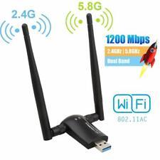 600//1200Mbp USB3.0 Dual Band 2.4G//5G Wifi Adapter 802.11ac Wireless Network~NIU