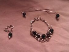 OOAK necklace set for Barbie Fashion Royalty & 16in Fsahion dolls