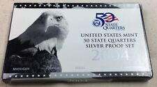 2004 US MINT SILVER QUARTER PROOF SET - Complete w/ Original Box and COA