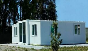LARGE EXPANDABLE HOUSE - Butterfly Prefab House, Fully Assembled, 57 SQM-614SQFT