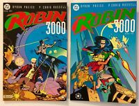 Robin 3000 Book One and Two Set DC Comics Graphic Novel 1992 - Unread