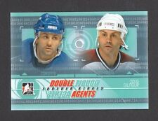 ITG Forever Rivals Double Agents Doug Gilmour Card Look!