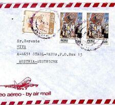 CM149 PERU Cover *CURAHUASI* Missionary Air Mail MIVA