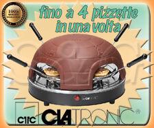 FORNO PIZZA PORTATILE CLATRONIC AEG PO 3681 CON COPERTURA IN TERRACOTTA