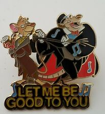 DISNEY MAGICAL MUSICAL MOMENTS  LET ME BE GOOD TO YOU MOUSE DETECTIVE PIN