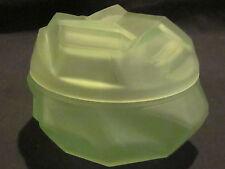 Kopp Modernistic Emerald Powder Jar