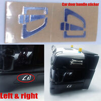 Car Door Handle Sticker Left & Right Metallic for TAMIYA 1/14 SCANIA 620 470 NEW