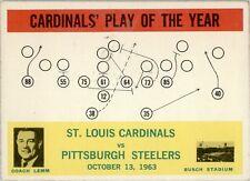 1964 Philadelphia 182 St. Louis Cardinals Play Ex #D250113