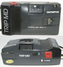 Olympus TRIP MD f/4 Point and Shoot 35mm Film Camera Tested Working