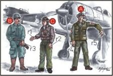 CMK 1:72 Japan army Pilots (2 Fig.) and Mechanic WWII Resin Figure #F72042