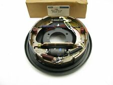 New OEM FORD Rear Right Drum Brake Backing Plate W/ Shoes F65Z-2209-AF