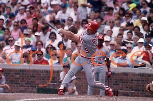 1990 Bill Doran CINCINNATI REDS - 35mm Baseball Slide (MP1)
