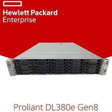 HP ProLiant DL380e G8 25BAY Storage Rack Server Intel Xeon Eight 8-Core Gen8 2U