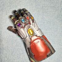 Iron Man Tony Stark Gauntlet LED Light Gloves Marvel Avengers 4 Infinity War