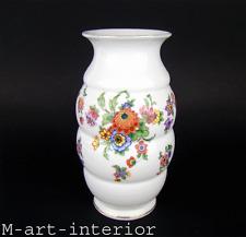 schöne EPOS Porzellan Vase Dekor Floral Schlegelmilch Tillowitz Silesia 1930