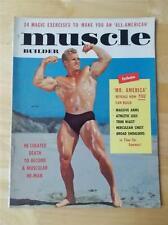 MUSCLE BUILDER bodybuilding fitness magazine/JACK DELINGER 5-56