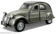 Citroen 2CV + Vitrine, Bburago Street Classics Modell 1:32, Neu, OVP